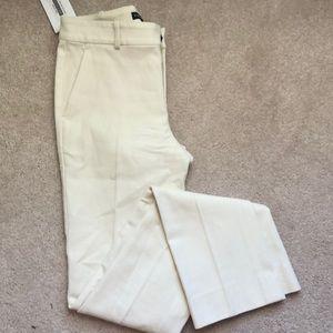 Ralph Lauren blue label cream slacks